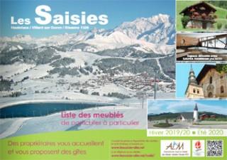 Brochure meublés particuliers Hiver 2019-20 + été 2020