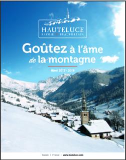 Brochure Hauteluce hiver 2017-18