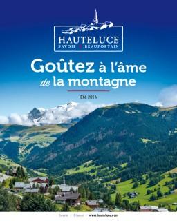Brochure Hauteluce été 2016