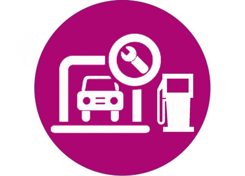 Garages en benzinestation