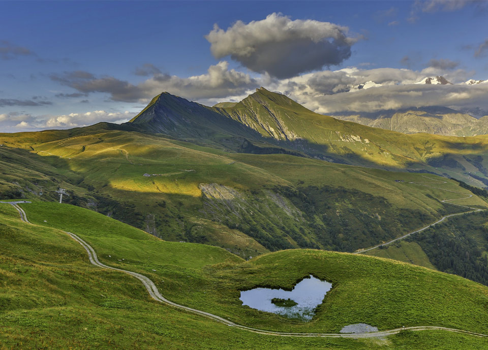 Splendid scenery
