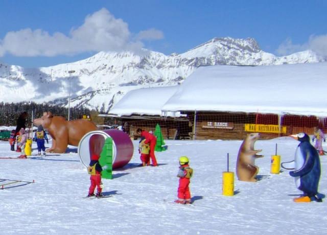 Skischool en kidergarden
