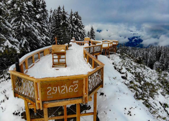 Balcon sur le Mont-Blanc