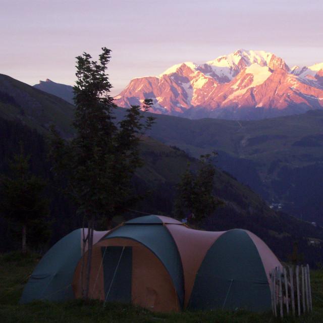 Campeggio alpino