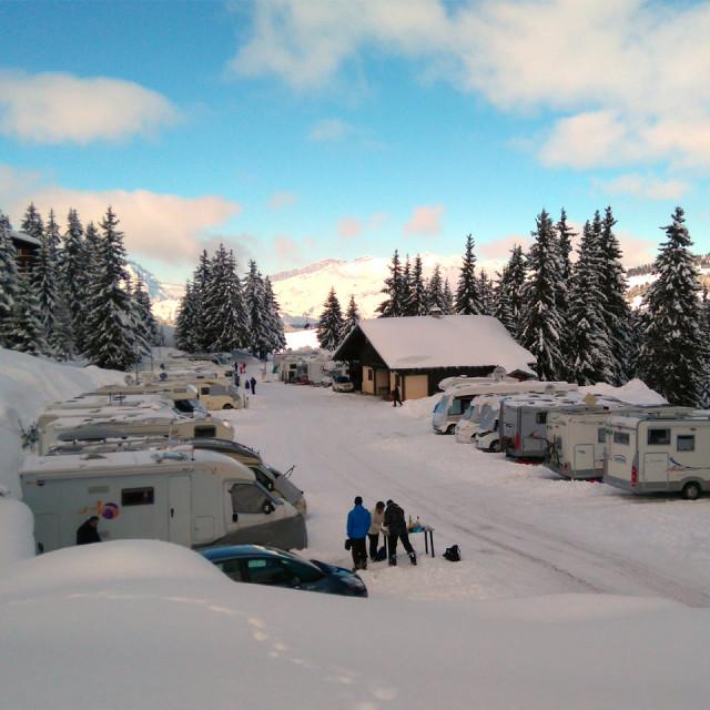 Campervan park