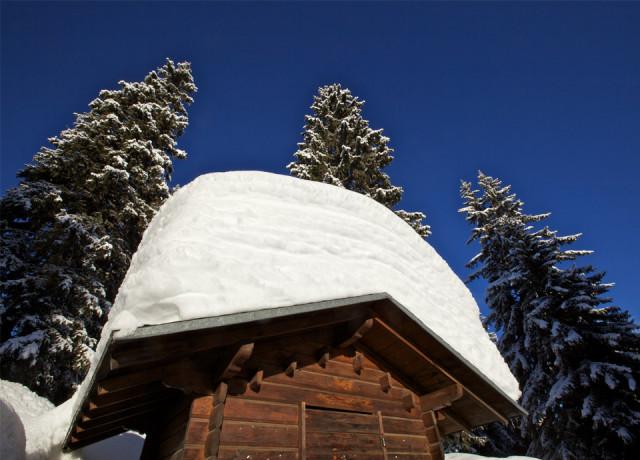 Le grenier à neige de la Savoie