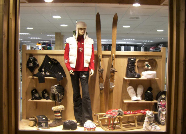 Winter sports shops