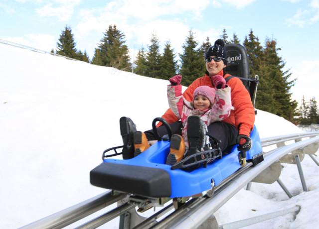 Mountain Twister slitta estate e inverno