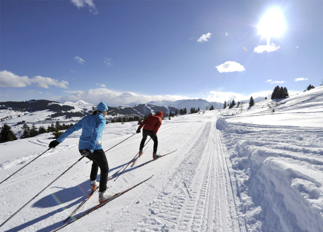 The most fabulous cross-country skiing area