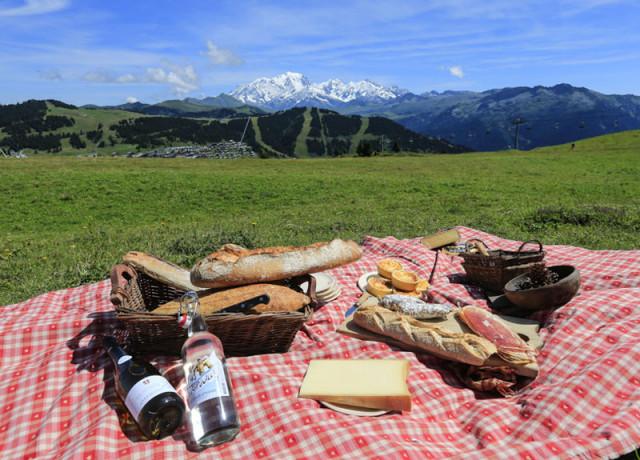 Tavoli da picnic o di orientamento