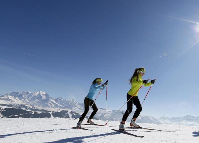 Langlauf skidomein
