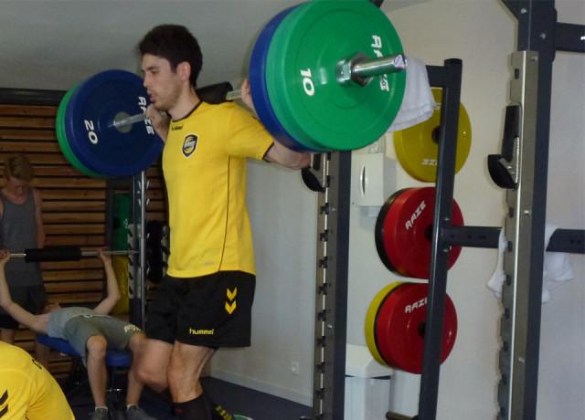 Des stages de préparation physique au top