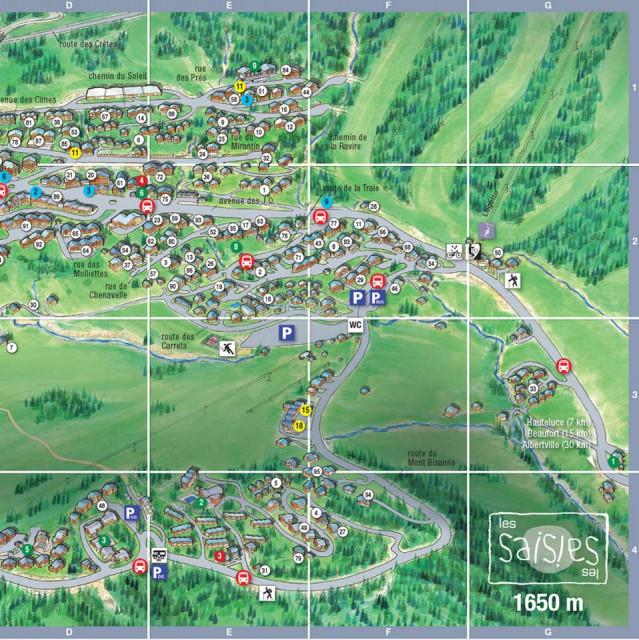Mappe della stazione