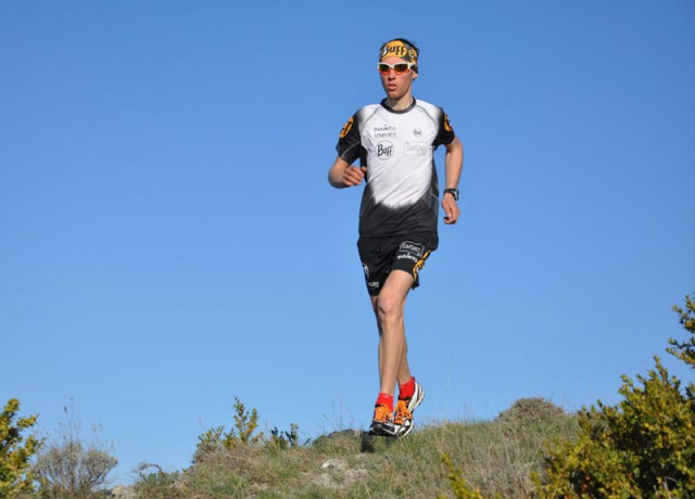 Trail running, course à pied en montagne aux Saisies