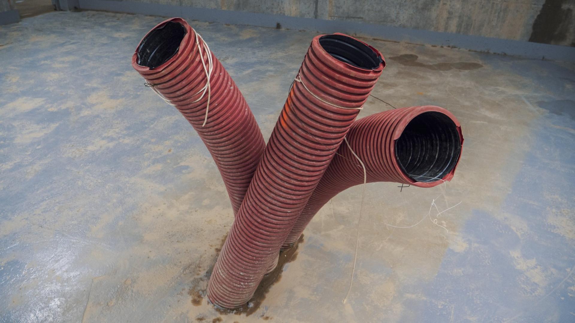 Arrivées souterraines des lignes à très haute tension