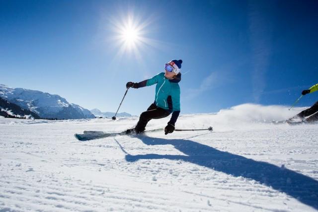 Bonne neige, bon ski aux Saisies