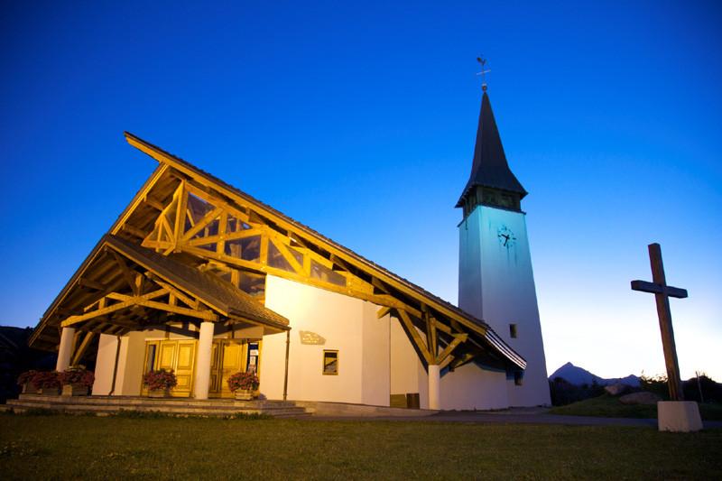 La Chapelle Notre Dame de Haute Lumière aux Saisies