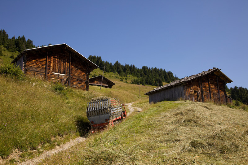 Le hameau des Pâchons