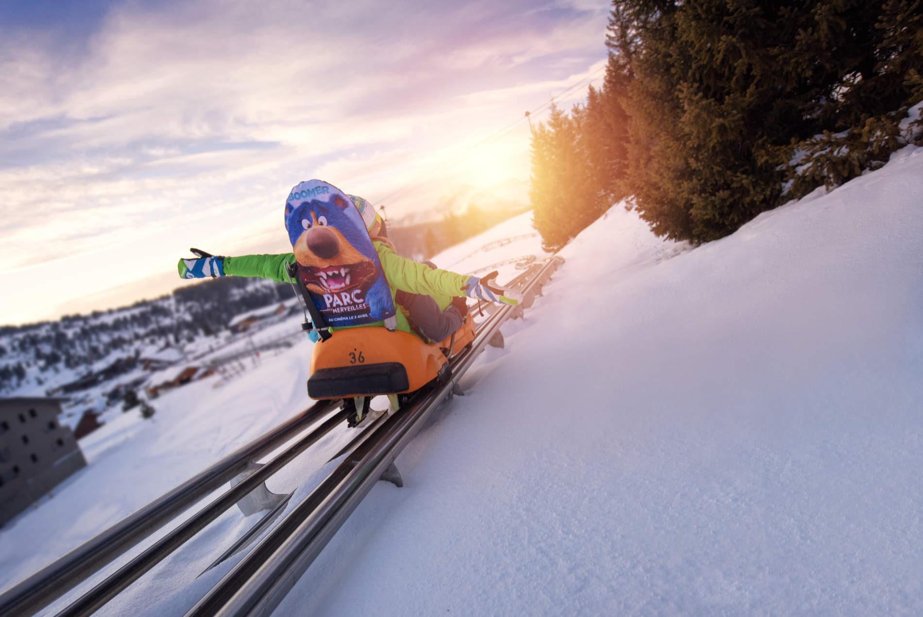 Luge sur rail Mountain Twister