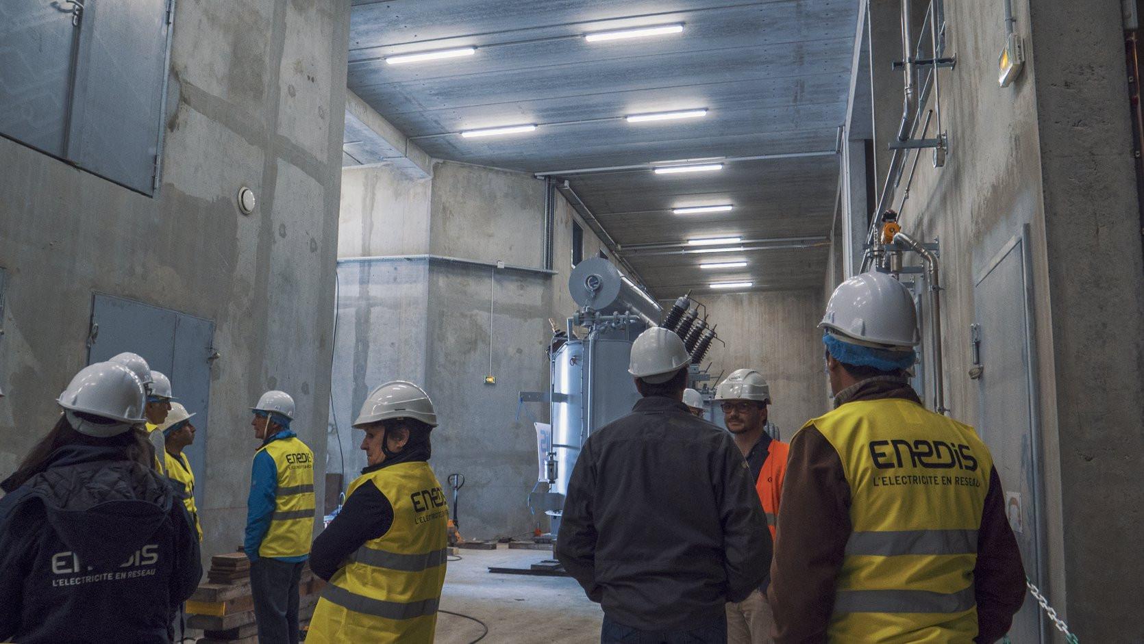 Le bâtiment est conditionné pour pouvoir accueillir un 3ème transformateur