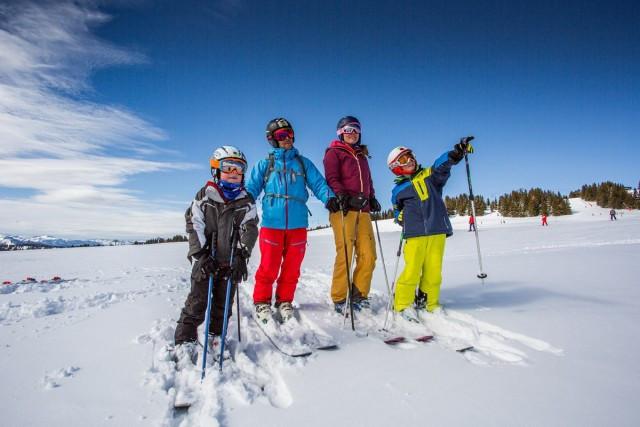 Printemps du ski aux Saisies