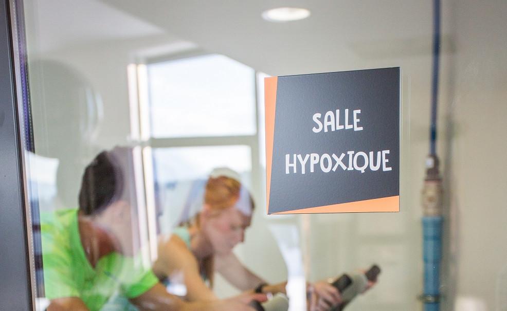 Salle hypoxique du centre aquasportif Le Signal
