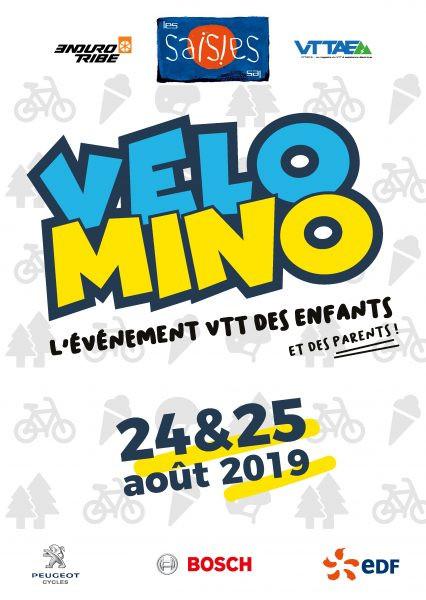 Velomino 24 et 25 août 2019 - Evénement VTT enfants et parents