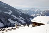 Le Village d'Hauteluce en hiver
