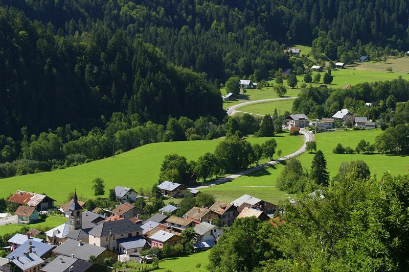 Village de Villard sur Doron