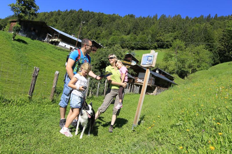 Sentier des Côtes à Hauteluce