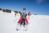 Skier en famille au printemps aux Saisies