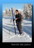 Entre ski nordique et ski de randonnée