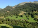 Vue panoramique, vallée d'Hauteluce