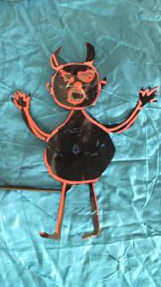 création de marionnette fantôme