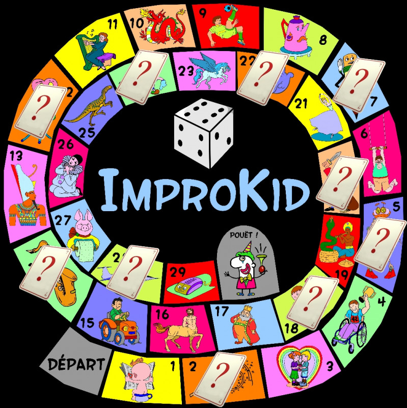 spectacle improkid