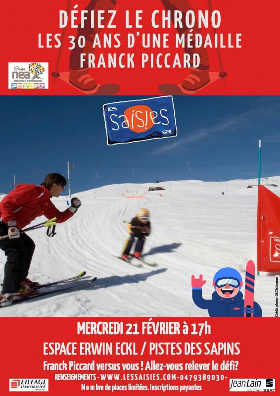 Défiez le Chrono face à Franck Piccard