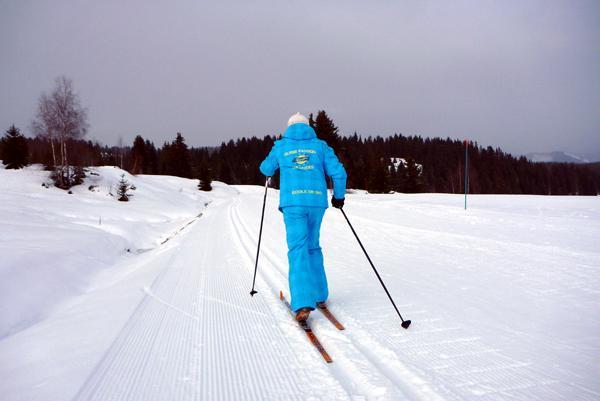 Ski nordique avec l'ESI des Saisies