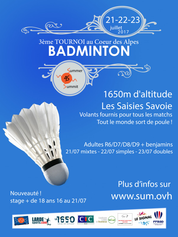 Summer summit 2017 aux Saisies