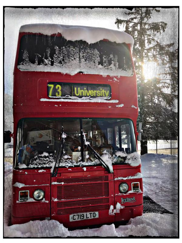 Le bus givré