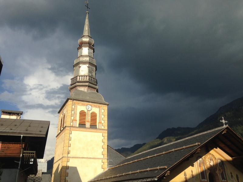 Hauteluce, église baroque restaurée