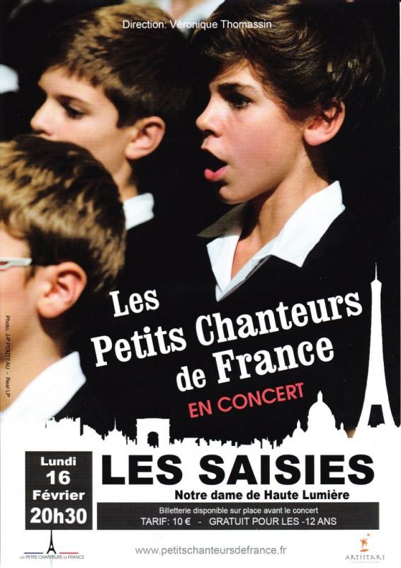 Les petits chanteurs de France en concert