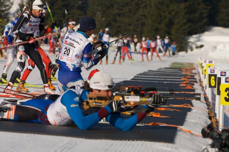 Biathlon Samse National Tour aux Saisies