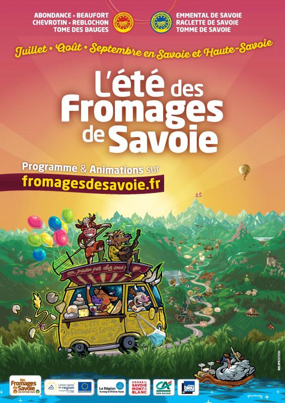 l'été des fromages de Savoie