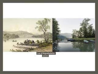 Exemple de siapositive diffusée pendant la découverte en images